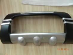 Накладка на решетку бампера. Nissan X-Trail, T31R, T31