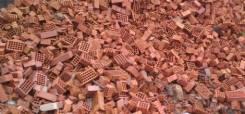 Приму строительный мусор: битый кирпич, куски цемента