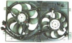 Вентилятор охлаждения радиатора. Audi A3 Volkswagen Golf, 1K1, 1K5 Skoda Octavia, 1Z Двигатели: BLP, BMN, BVX, AXW, BSF, BSE, BLX, BWA, BCA, BLG, CAXA...