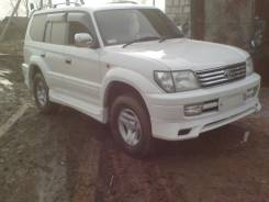Спойлер. Toyota Land Cruiser Prado