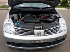 Защита бампера. Nissan Tiida Latio, SNC11 Двигатель HR15DE