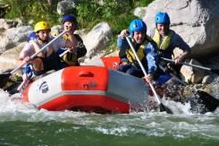 Сплав и соревнования по Рафтингу на реке Тигровая и Партизанская