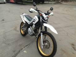 Yamaha Serow. 250 куб. см., исправен, птс, без пробега