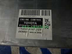 Блок управления двс. Toyota Celica, ZZT231 Двигатель 2ZZGE