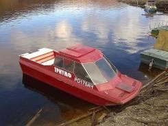 Продам катер. длина 6,00м., двигатель подвесной, 115,00л.с., бензин