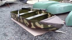 Лодка складная вёсельно-моторная. Год: 2016 год, длина 3,00м., двигатель подвесной, 10,00л.с., бензин. Под заказ