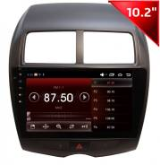 "Штатная магнитола Mitsubishi ASX, RVR 2010+ Android , 10.2"""