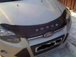 Дефлектор капота. Ford Focus, CB8 Двигатели: XQDA, XTDA, UFDB, IQDB, PNDA. Под заказ