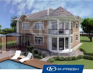 M-fresh Monte Carlo-зеркальный (У нас проект дома со скидкой 20%! ). 300-400 кв. м., 2 этажа, 8 комнат, бетон