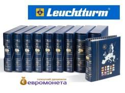 Leuchtturm альбом Vista для евро монет годовые наборы за 2005 341029