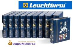 Leuchtturm альбом Vista для евро монет годовые наборы 1999-2001 341025