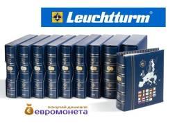 Leuchtturm альбом Vista для евро монет годовые наборы за 2002 341026
