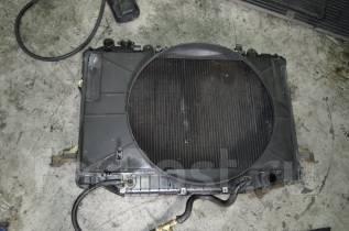 Радиатор охлаждения двигателя. Toyota Land Cruiser, FZJ80J, FJ80G, HDJ81V, HDJ81, HZJ81, FJ80, FZJ80, HZJ81V, FZJ80G Двигатели: 1HDFT, 3FE, 1HDT, 1HZ...