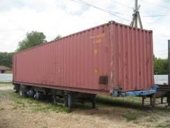 Тонар 97462. Продается полуприцеп с контейнером, 18 000 кг.
