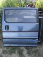 Дверь сдвижная. Toyota Hiace, LH100G Двигатель 2LTE