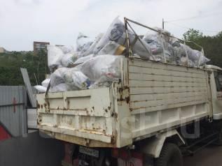 Вывоз мусора самосвалами и фургонами 5, 6, 2, 3 тонны до 15 м3 кубов