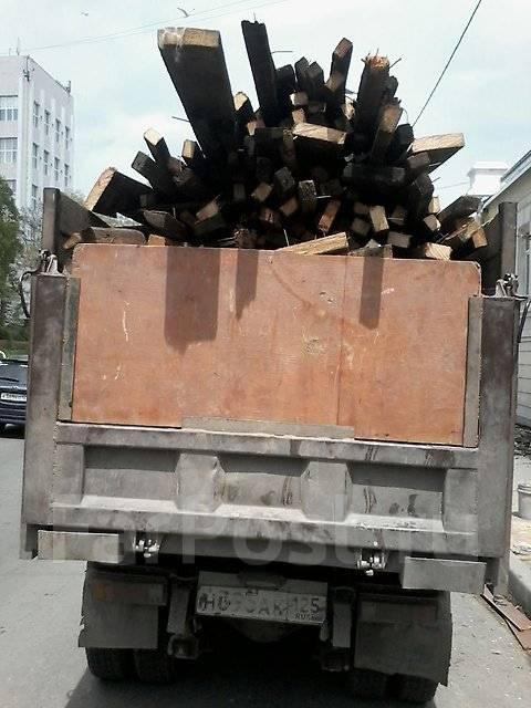 Вывоз мусора самосвалами и фургонами