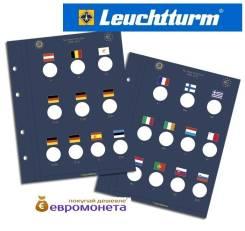 Leuchtturm лист для юбилейных монет 2 евро формат Vista Optima 341624