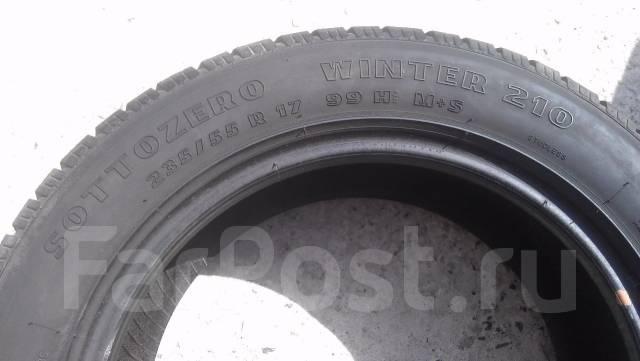 Pirelli Winter Sottozero. Зимние, без шипов, износ: 30%, 4 шт