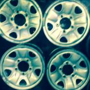 Toyota Land Cruiser. x16, 5x150.00