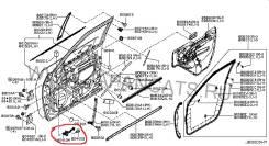 Ограничитель двери. Infiniti QX56, Z62 Двигатель VK56VD