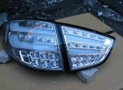 Стопы (фары) «BMW Design» для Hyundai Tucson Ix35 (светлые). Hyundai ix35 Hyundai Tucson