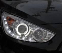 Фара противотуманная. Hyundai Solaris