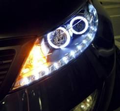 Альтернативная оптика (фары) «EagelEye» для Kia Sportage 3 R