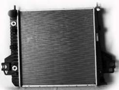 Радиатор охлаждения двигателя. Jeep Liberty