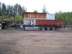 Atlant. Продам прицеп-контейнеровоз 35 тонн 2014 г. в, 35 000 кг.