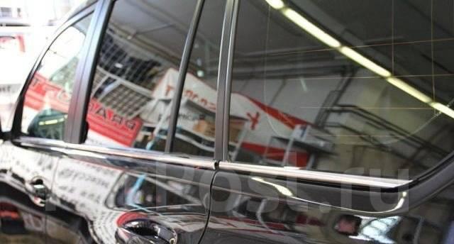 Молдинг стекла. Toyota Land Cruiser Prado, GRJ150L, GRJ150W, TRJ125, GRJ151W, TRJ12, TRJ120, GDJ150L, TRJ150W, TRJ120W, TRJ125W, GDJ150W, KDJ150L, GDJ...