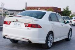 Спойлер со стоп сигналом на багажник Modulo ABS пластик Acura TSX. Honda Accord Acura TSX
