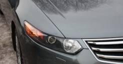 """Реснички """"Light v1"""" на Accord 8 поколение (ABS пластик) Acura TSX CU2"""