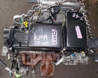 Двигатель в сборе. Suzuki Wagon R Plus Suzuki Wagon R Wide Suzuki Wagon R Solio Двигатель K10A