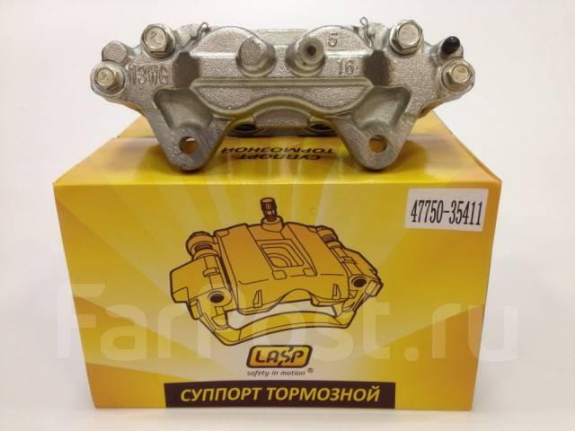 Суппорт тормозной. Toyota FJ Cruiser, GSJ10, GSJ10W, GSJ15, GSJ15W Toyota Fortuner, GGN50, GGN60, KUN51, KUN51L, KUN61, LAN50, TGN51, TGN51L, TGN61 To...