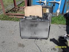 Радиатор охлаждения двигателя. Nissan AD, Y12 Двигатели: HR15DE, HR15