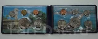 Сингапур и Малайзия сувенирный набор монет