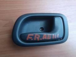 Ручка двери внутренняя. Toyota Sprinter Carib, AE111G Двигатель 4AFE