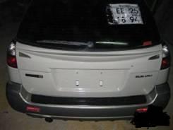 Накладка на дверь багажника. Subaru Legacy Lancaster