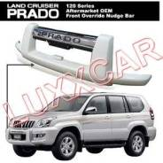 Накладка на дугу. Toyota Land Cruiser Prado