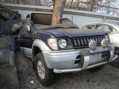 Бампер. Toyota Land Cruiser Prado, KZJ90, KZJ90W Двигатель 1KZTE