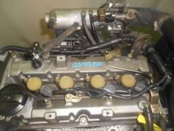 Контрактный б/у двигатель + вкпп Mitsubishi 4G15-T