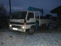 Перевозка, доставка грузов борт-3т ; р-р 2х4м ; кран-2.5т ч. л от 800р. ч