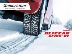 Bridgestone Blizzak Spike-01. Зимние, шипованные, 2016 год, без износа, 4 шт