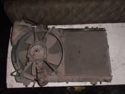 Радиатор охлаждения двигателя. Toyota Corsa, EL53 Двигатель 5EFE