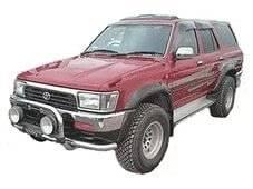 Дефлектор капота. Toyota Hilux Surf, VZN185W, RZN180W, KZN185W, RZN185W, VZN180W, KDN185W Двигатели: 5VZFE, 3RZFE, 1KZTE, 1KDFTV. Под заказ