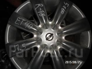 """Nissan. 7.5x18"""", 5x114.30, ET40"""
