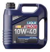 Liqui moly Optimal Synth. Вязкость 10W40, полусинтетическое