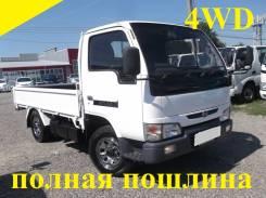 Nissan Atlas. 4WD, борт 1,5 тонны, 2 700 куб. см., 1 500 кг.