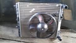 Радиатор охлаждения двигателя. Skoda Fabia